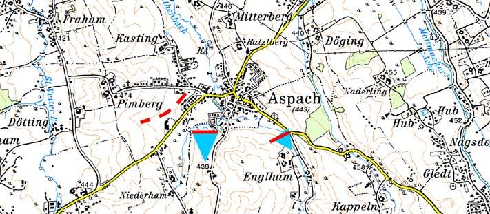 Karte - Hochwasserschutz Aspach