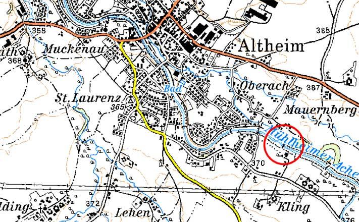 Karte Sanierung Stieglmüllerwehr