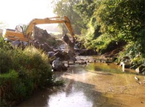Sanierung der Altbachrampen