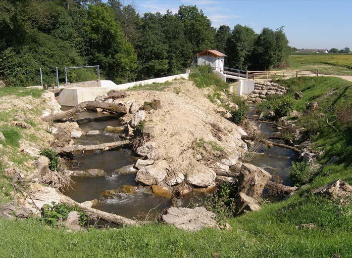 Naturnaher Tümpelpass, Lochbach