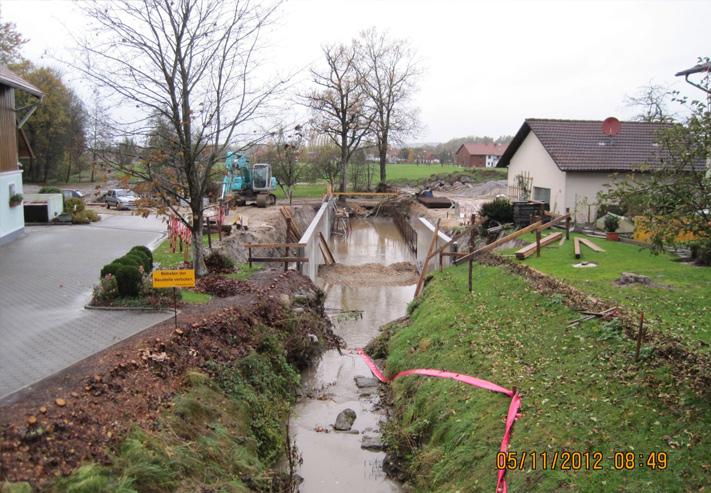 Hochwasserschutz Wildenau